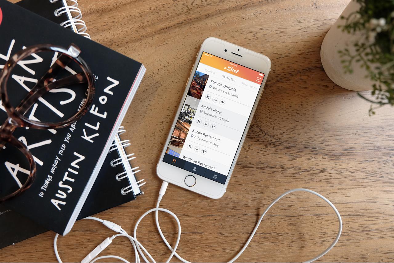 daShef Guest aplikacija za goste