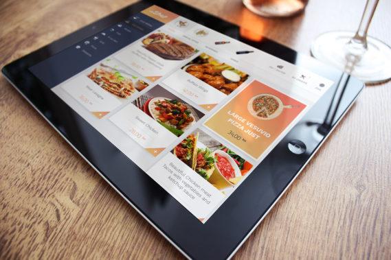 daShef digital menu