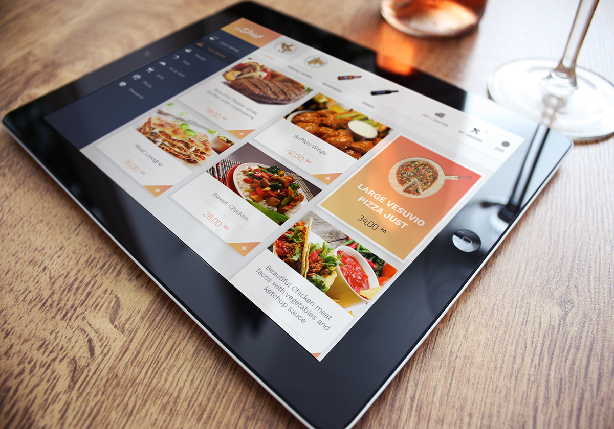 daShef digital menu for bars and restaurants - daShef