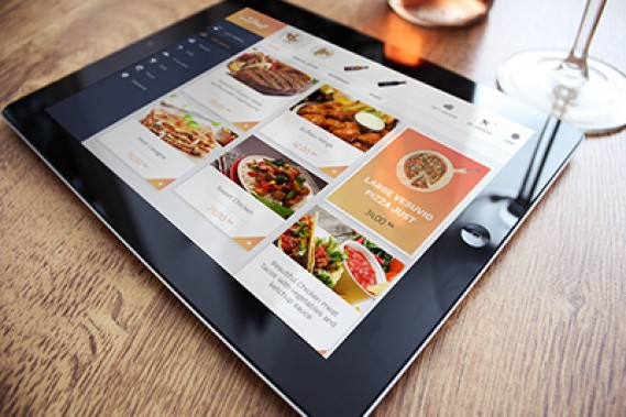 daShef digital menu
